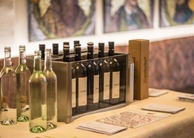Rote Weine bei der Lageweinverkostung