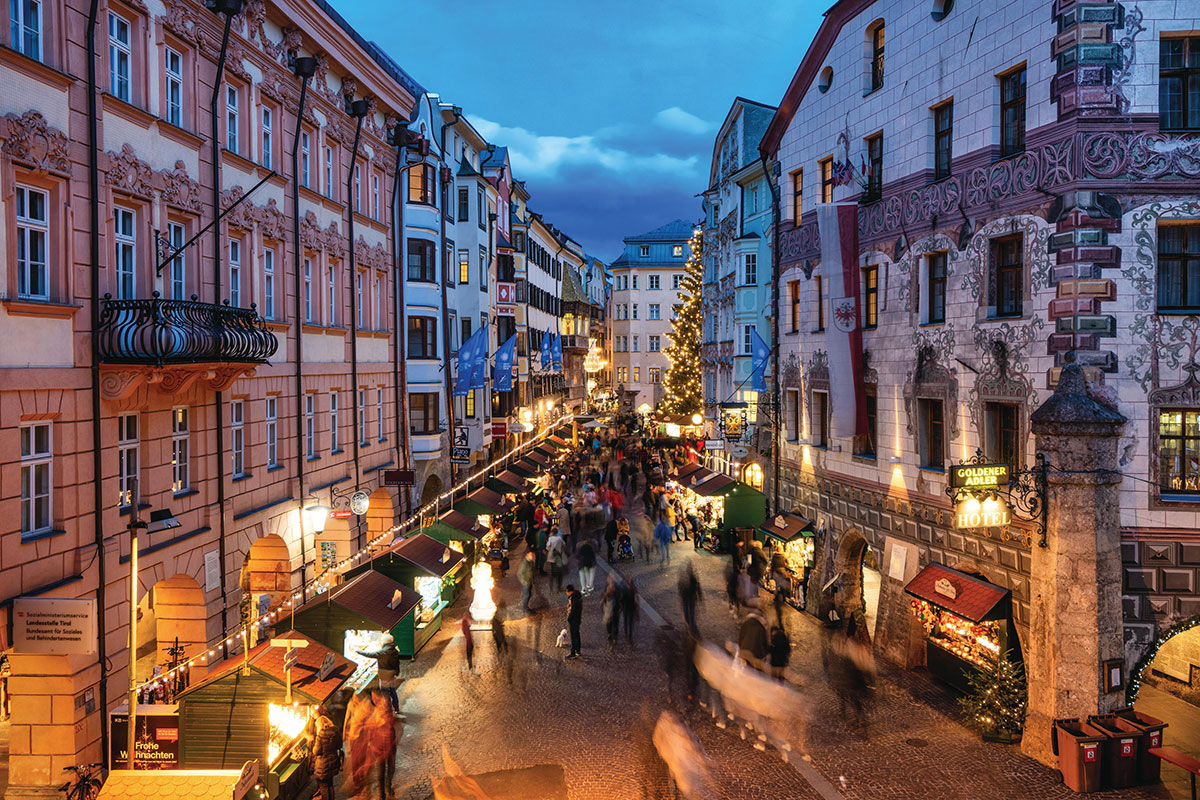 Altstadt Innsbruck Goldener Adler